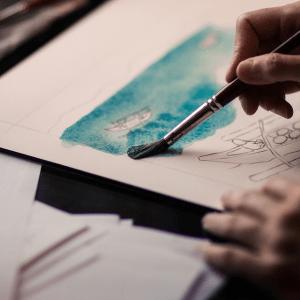 Mal- und Zeichenpapiere