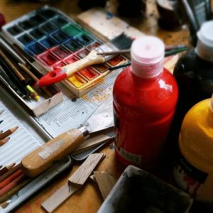 Künstler-Stifte & Farben